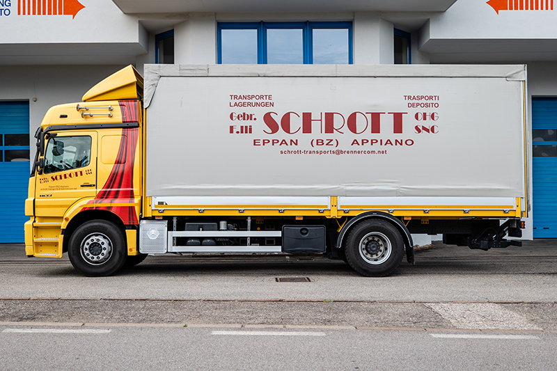 Schrott Transport Mercedes Axor 18t