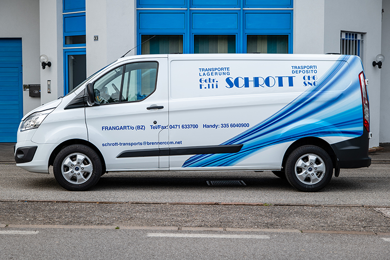 Schrott Transport Ford Transit